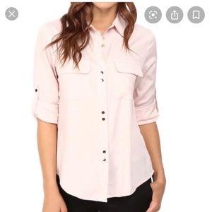 Ivanka Trump Millennial Blush Pink Button Up Shirt